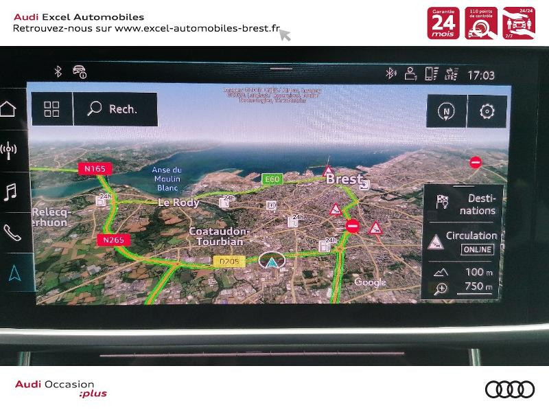 Photo 12 de l'offre de AUDI A6 Avant 50 TDI 286ch S line quattro tiptronic à 61900€ chez Excel Automobiles – Audi Brest
