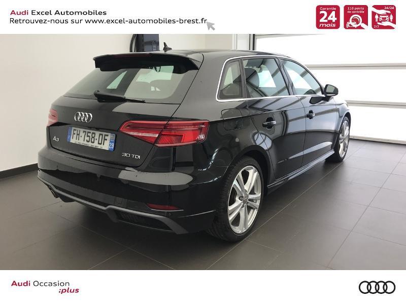 Photo 4 de l'offre de AUDI A3 Sportback 30 TDI 116ch S line Plus Euro6d-T à 26990€ chez Excel Automobiles – Audi Brest