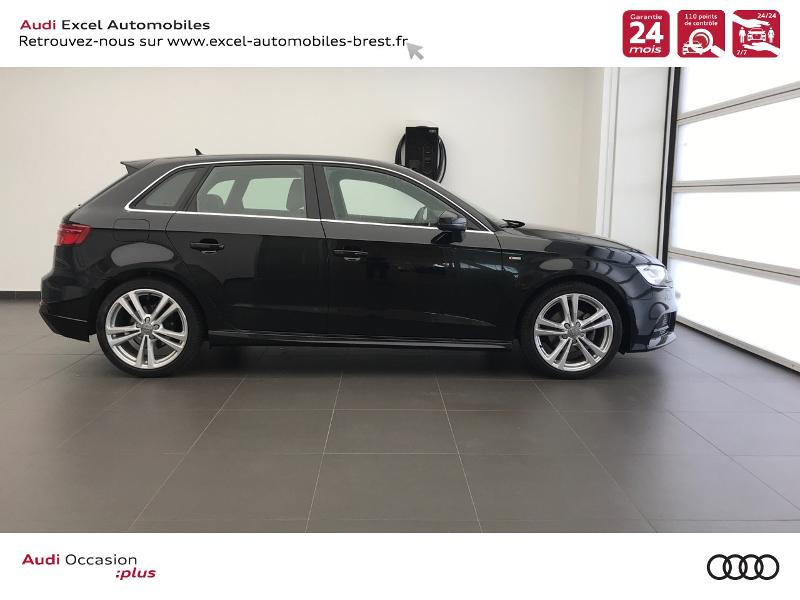 Photo 3 de l'offre de AUDI A3 Sportback 30 TDI 116ch S line Plus Euro6d-T à 26990€ chez Excel Automobiles – Audi Brest