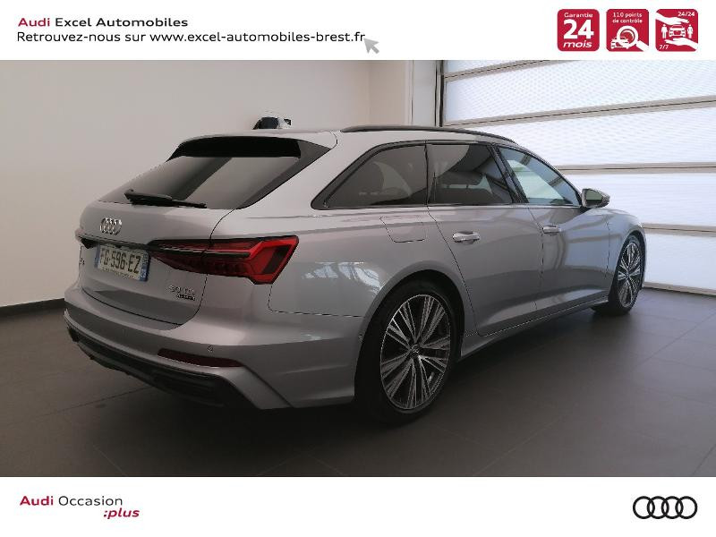 Photo 4 de l'offre de AUDI A6 Avant 50 TDI 286ch S line quattro tiptronic à 61900€ chez Excel Automobiles – Audi Brest