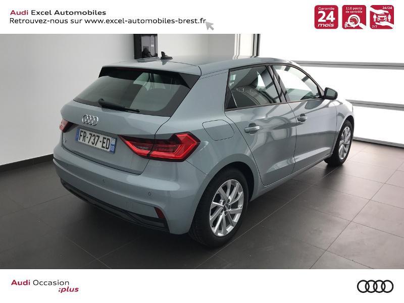 Photo 4 de l'offre de AUDI A1 Sportback 25 TFSI 95ch Design S tronic 7 à 23490€ chez Excel Automobiles – Audi Brest