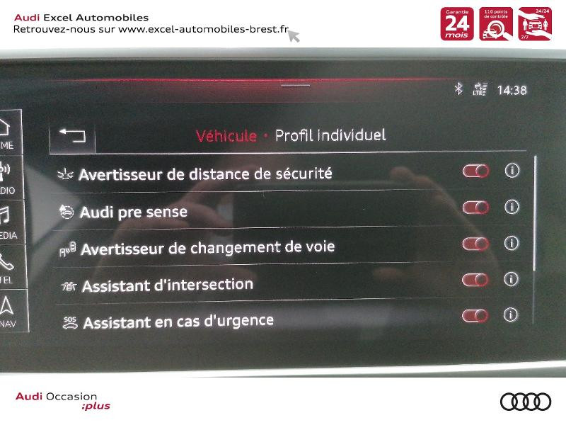 Photo 11 de l'offre de AUDI A7 Sportback 50 TDI 286ch Avus quattro tiptronic 8 Euro6d-T 138g à 59900€ chez Excel Automobiles – Audi Brest