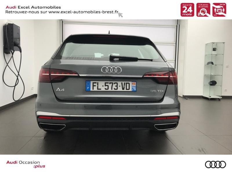Photo 5 de l'offre de AUDI A4 Avant 35 TDI 163ch S line S tronic 7 94g à 39900€ chez Excel Automobiles – Audi Brest