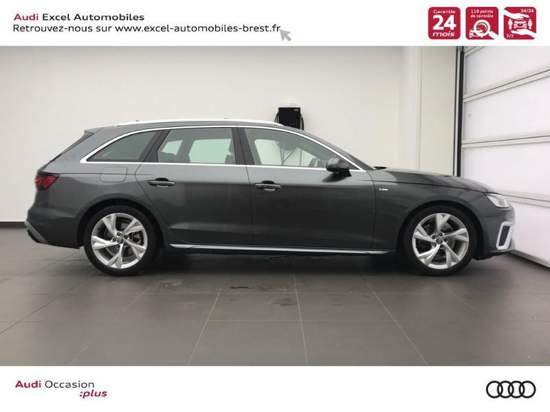 Photo 3 de l'offre de AUDI A4 Avant 35 TDI 163ch S line S tronic 7 94g à 39900€ chez Excel Automobiles – Audi Brest