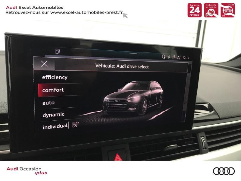 Photo 13 de l'offre de AUDI A4 Avant 35 TDI 163ch S line S tronic 7 94g à 39900€ chez Excel Automobiles – Audi Brest