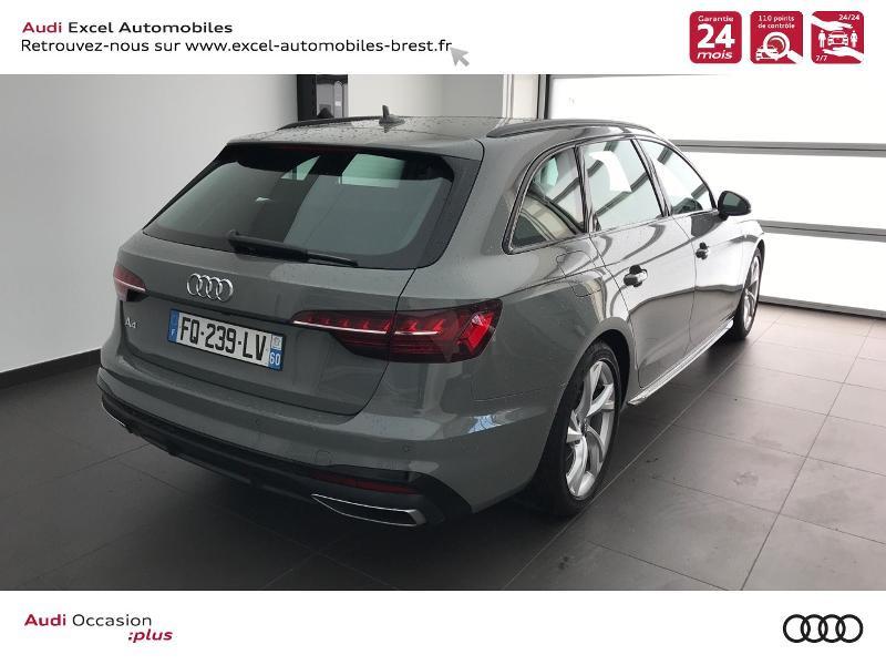 Photo 4 de l'offre de AUDI A4 Avant 35 TFSI 150 CH S TRONIC S LINE à 39490€ chez Excel Automobiles – Audi Brest