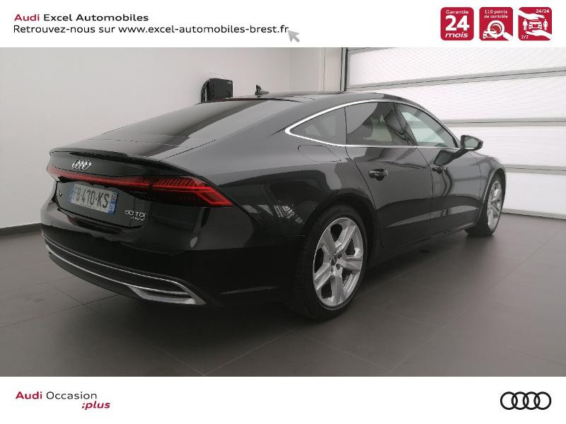 Photo 4 de l'offre de AUDI A7 Sportback 50 TDI 286ch Avus quattro tiptronic 8 Euro6d-T 138g à 59900€ chez Excel Automobiles – Audi Brest