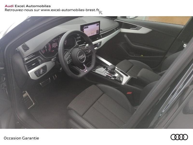 Photo 7 de l'offre de AUDI A4 Avant 40 TDI 190ch S line Stronic 7 à 49990€ chez Excel Automobiles – Audi Brest