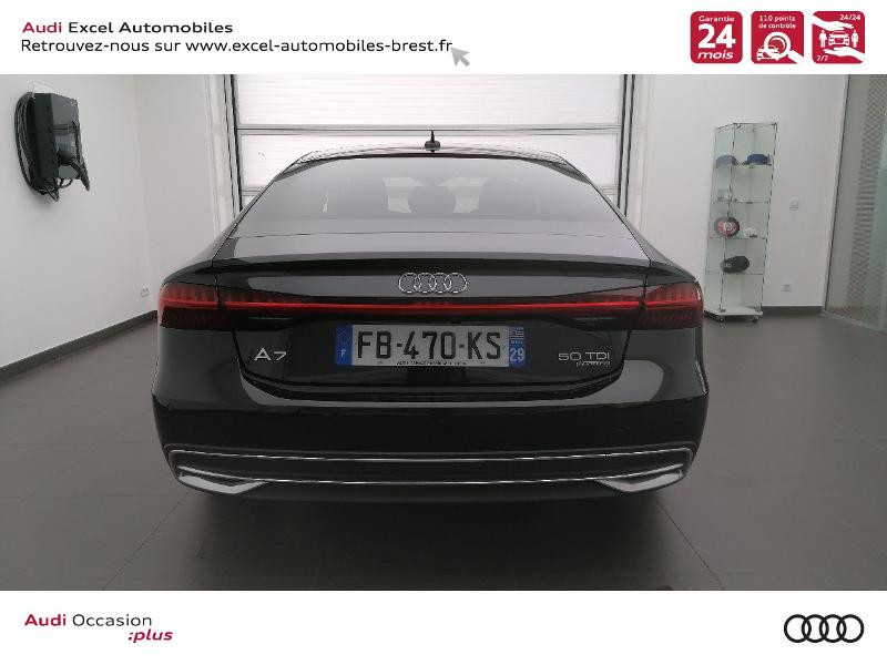 Photo 5 de l'offre de AUDI A7 Sportback 50 TDI 286ch Avus quattro tiptronic 8 Euro6d-T 138g à 59900€ chez Excel Automobiles – Audi Brest