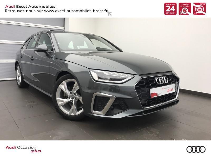 Photo 1 de l'offre de AUDI A4 Avant 35 TDI 163ch S line S tronic 7 94g à 39900€ chez Excel Automobiles – Audi Brest