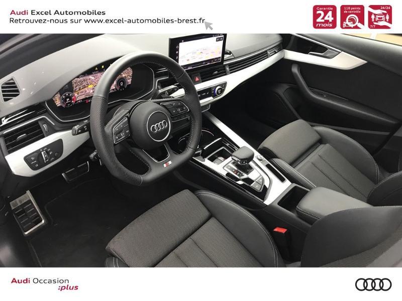 Photo 6 de l'offre de AUDI A4 Avant 35 TDI 163ch S line S tronic 7 94g à 39900€ chez Excel Automobiles – Audi Brest