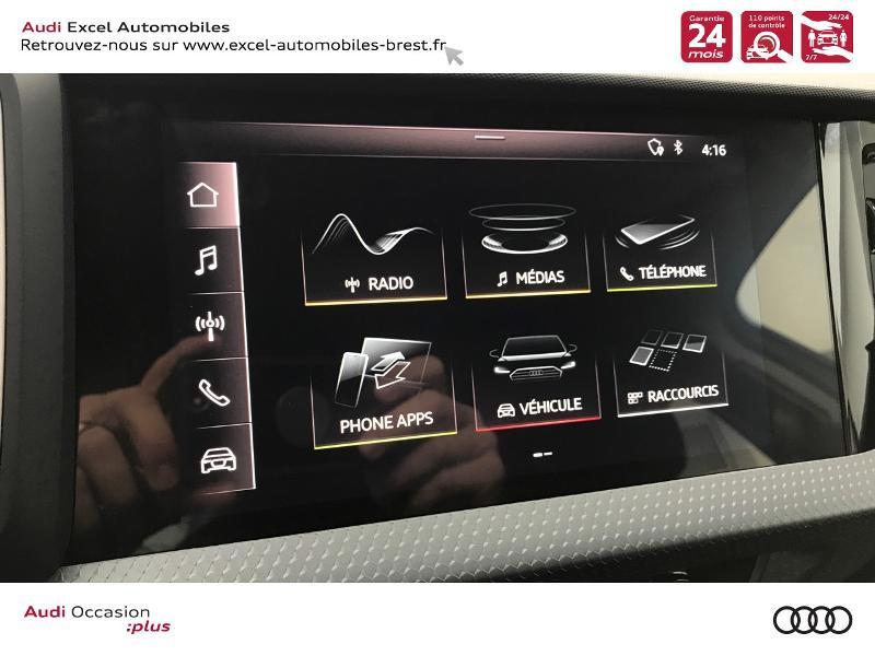 Photo 11 de l'offre de AUDI A1 Sportback 25 TFSI 95ch Design S tronic 7 à 23490€ chez Excel Automobiles – Audi Brest