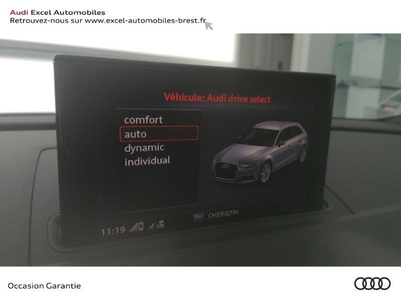 Photo 16 de l'offre de AUDI A3 Sportback 30 TFSI 116ch S line Euro6d-T à 24990€ chez Excel Automobiles – Audi Brest