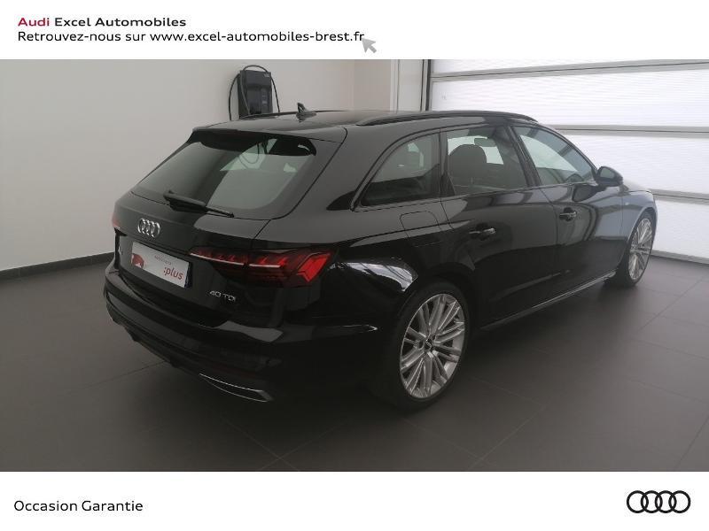 Photo 4 de l'offre de AUDI A4 Avant 40 TDI 190ch S line Stronic 7 à 49990€ chez Excel Automobiles – Audi Brest