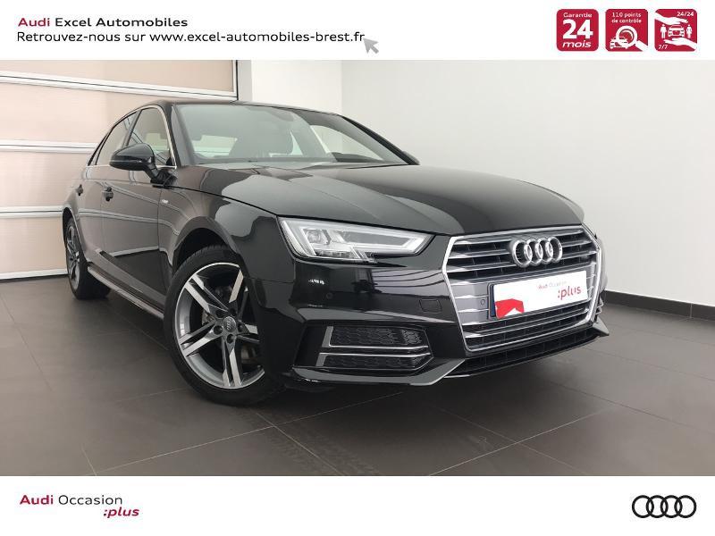 Audi Nouvelle A4 2.0 TDI 150 CH S TRONIC 7 S LINE Diesel NOIR MYTHIC METALLIS Occasion à vendre