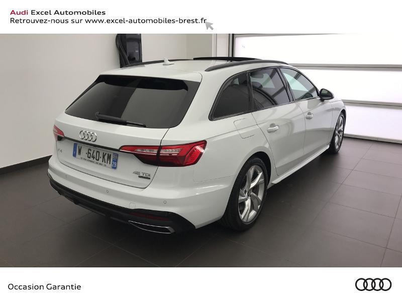 Photo 4 de l'offre de AUDI A4 Avant 45 TDI 231ch S line quattro tiptronic 8 à 43990€ chez Excel Automobiles – Audi Brest