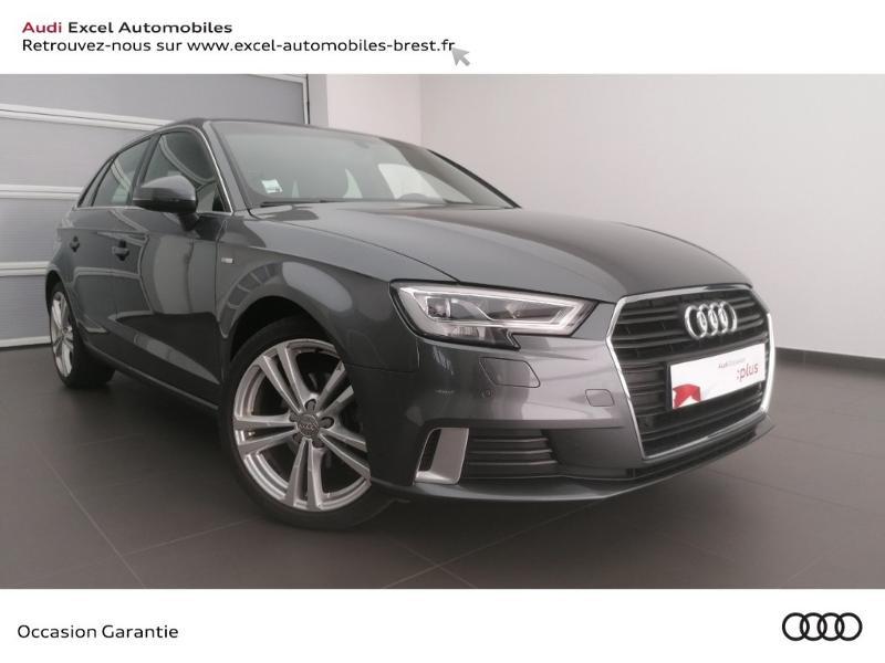 Photo 1 de l'offre de AUDI A3 Sportback 30 TFSI 116ch S line Euro6d-T à 24990€ chez Excel Automobiles – Audi Brest