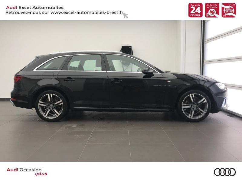 Photo 3 de l'offre de AUDI Nouvelle A4 AVANT 2.0 TDI 150 CH S TRONIC 7 S LINE à 37990€ chez Excel Automobiles – Audi Brest
