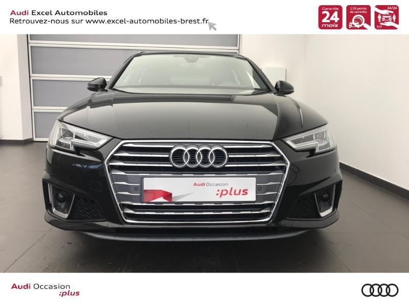 Photo 2 de l'offre de AUDI Nouvelle A4 AVANT 2.0 TDI 150 CH S TRONIC 7 S LINE à 37990€ chez Excel Automobiles – Audi Brest