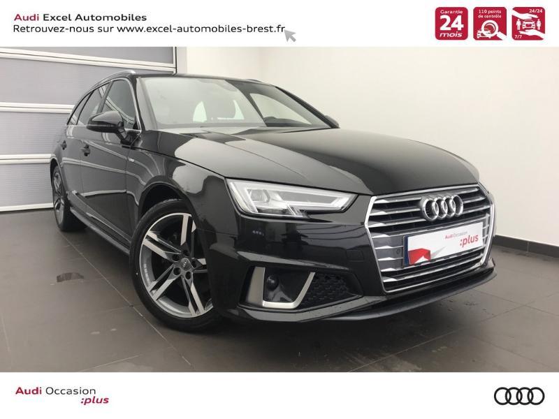 Photo 1 de l'offre de AUDI Nouvelle A4 AVANT 2.0 TDI 150 CH S TRONIC 7 S LINE à 37990€ chez Excel Automobiles – Audi Brest