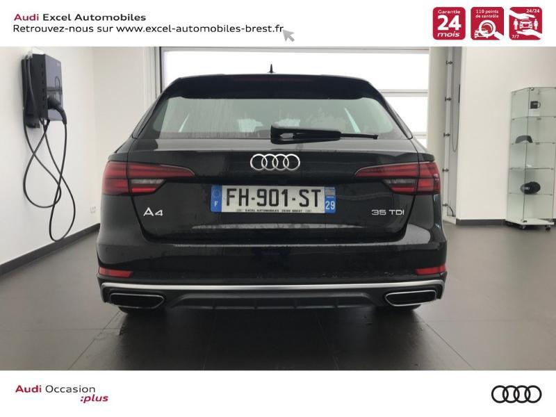 Photo 5 de l'offre de AUDI Nouvelle A4 AVANT 2.0 TDI 150 CH S TRONIC 7 S LINE à 37990€ chez Excel Automobiles – Audi Brest