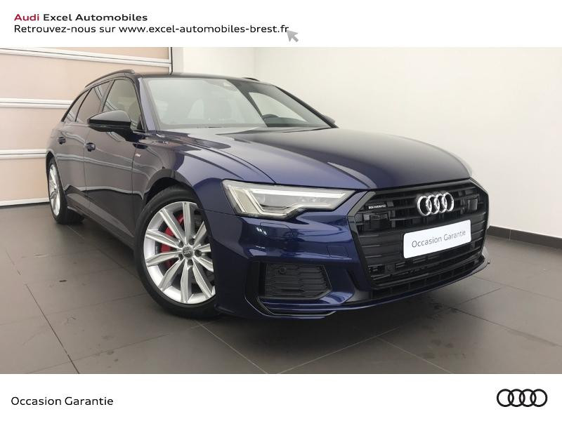 Audi A6 AVANT 55 TFSI E 367 CH S LINE Hybride BLEU NAVARRE Occasion à vendre