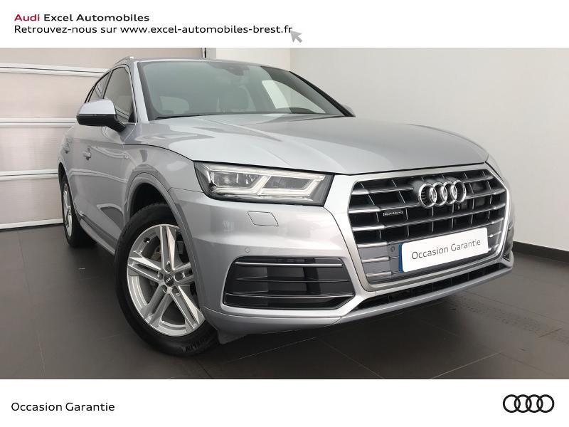 Audi Q5 2.0 TDI 190ch S line quattro S tronic 7 Diesel ARGENT FLEURET Occasion à vendre