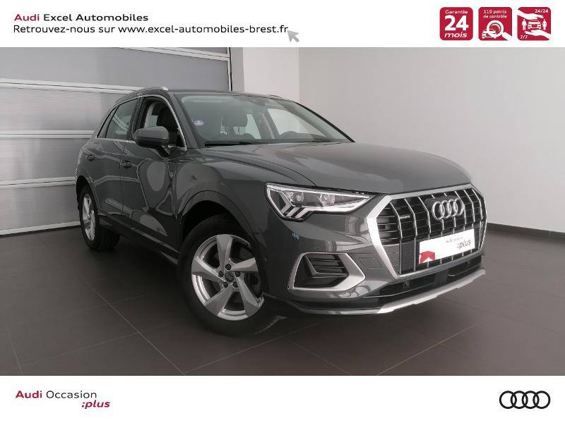 Photo 1 de l'offre de AUDI Q3 45 TFSI 230ch Design Luxe quattro S tronic 7 à 46990€ chez Excel Automobiles – Audi Brest