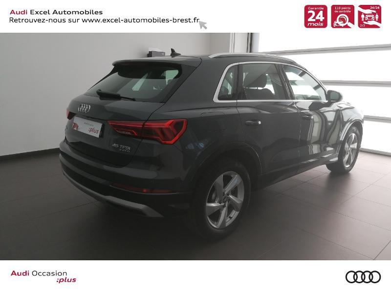 Photo 4 de l'offre de AUDI Q3 45 TFSI 230ch Design Luxe quattro S tronic 7 à 46990€ chez Excel Automobiles – Audi Brest