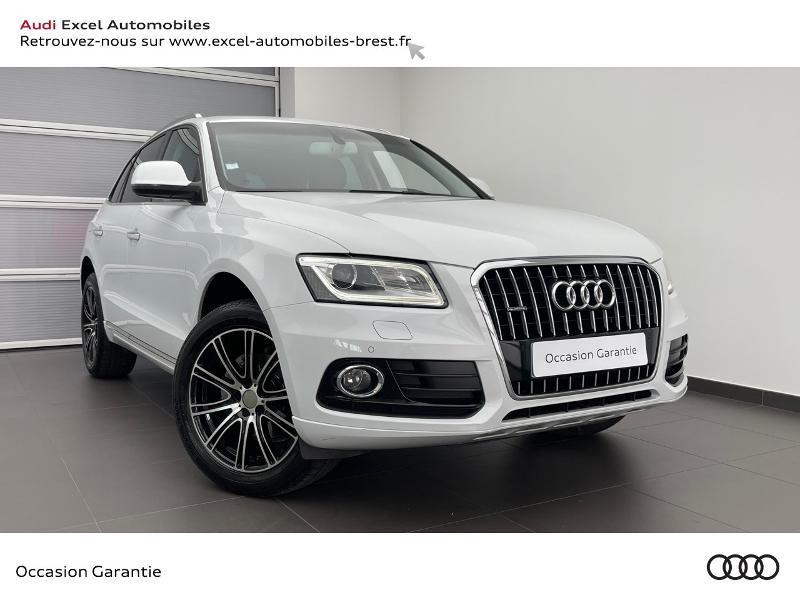 Audi Q5 2.0 TDI 190ch clean diesel Business line quattro S tronic 7 Diesel BLANC GLACIER Occasion à vendre