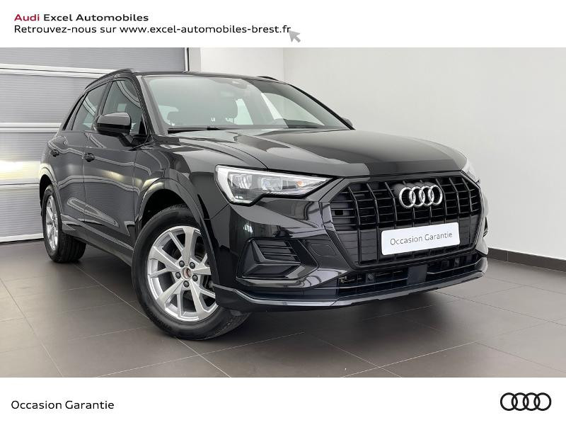 Audi Q3 35 TDI 150ch Design S tronic 7 Diesel NOIR MYTHIC Occasion à vendre