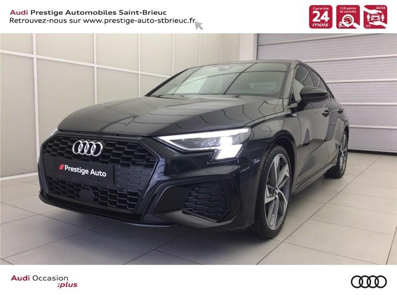 Audi A3/S3 35 TFSI 150 S TRONIC 7 Essence sans plomb NOIR MYTHIC METALLISE Occasion à vendre