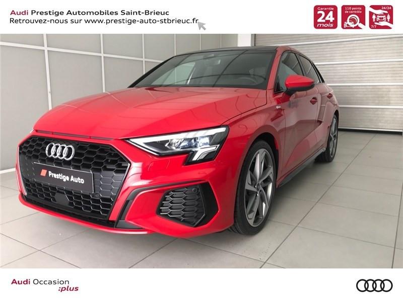 Audi A3/S3 35 TDI 150 S TRONIC 7 Diesel ROUGE TANGO Occasion à vendre
