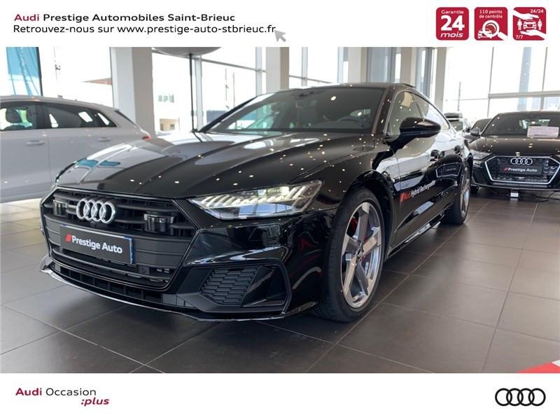 Audi A7 SPORTBACK 55 TFSI E 367 CH QUATTRO S TRONIC 7 HYBRIDE ESSENCE ELECTRICITE NOIR MYTHIC METALLISE Occasion à vendre