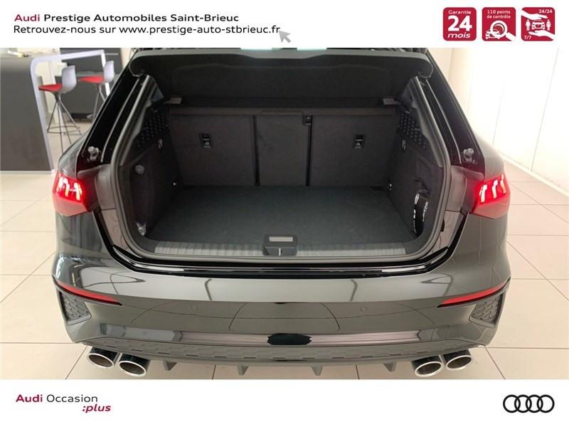 Photo 16 de l'offre de AUDI A3/S3 53 TFSI 310 S TRONIC 7 QUATTRO à 69900€ chez Prestige Automobiles – Audi St Brieuc