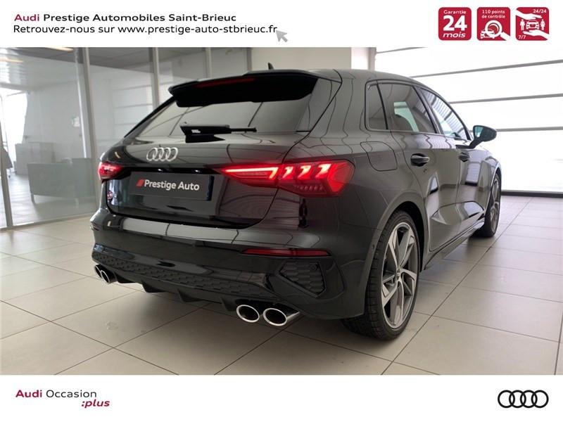 Photo 5 de l'offre de AUDI A3/S3 53 TFSI 310 S TRONIC 7 QUATTRO à 69900€ chez Prestige Automobiles – Audi St Brieuc