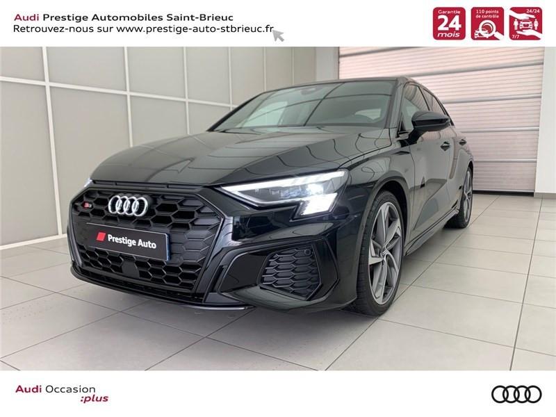 Photo 1 de l'offre de AUDI A3/S3 53 TFSI 310 S TRONIC 7 QUATTRO à 69900€ chez Prestige Automobiles – Audi St Brieuc