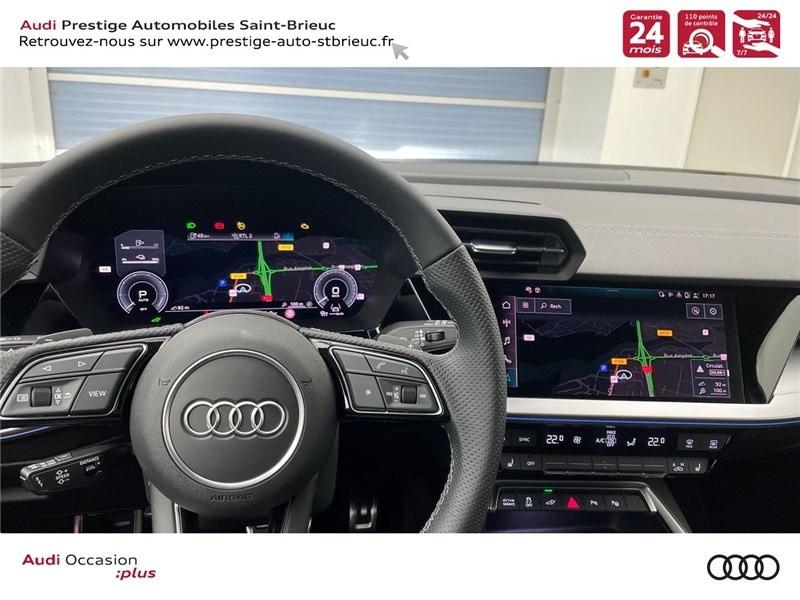 Photo 10 de l'offre de AUDI A3 SPORTBACK A3 SB NF 40 TFSI E 1.4 TFSI 204CH S TRONIC 6 à 44900€ chez Prestige Automobiles – Audi St Brieuc