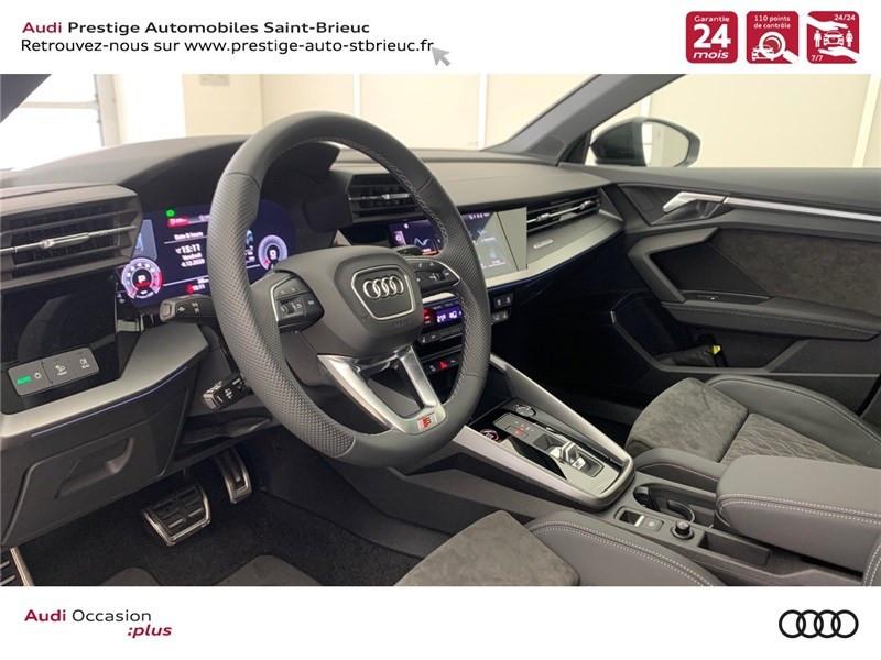 Photo 7 de l'offre de AUDI A3/S3 53 TFSI 310 S TRONIC 7 QUATTRO à 69900€ chez Prestige Automobiles – Audi St Brieuc