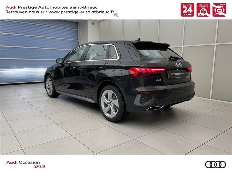 Photo 4 de l'offre de AUDI A3 SPORTBACK A3 SB NF 40 TFSI E 1.4 TFSI 204CH S TRONIC 6 à 44900€ chez Prestige Automobiles – Audi St Brieuc