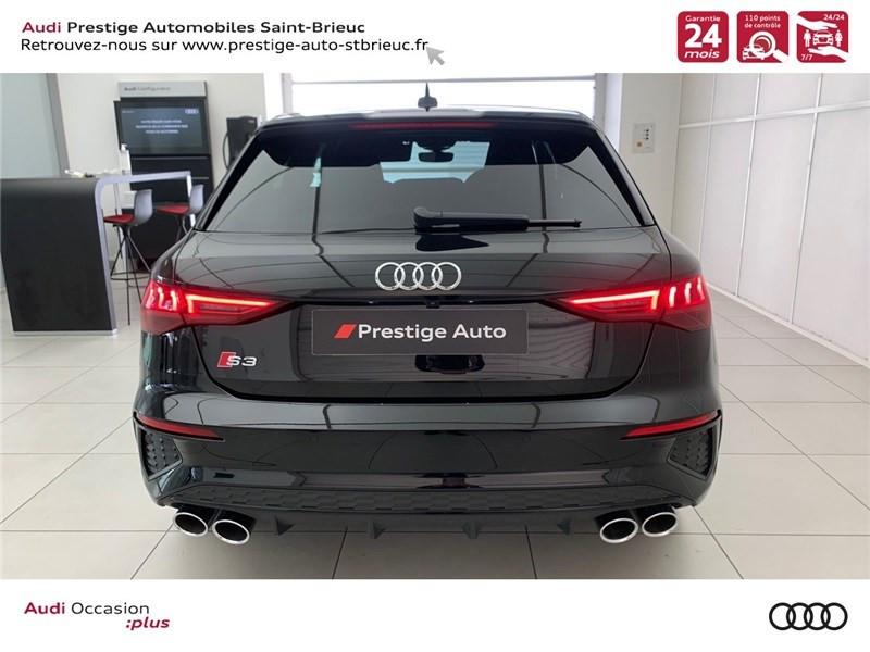 Photo 4 de l'offre de AUDI A3/S3 53 TFSI 310 S TRONIC 7 QUATTRO à 69900€ chez Prestige Automobiles – Audi St Brieuc