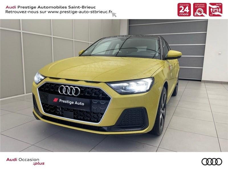 Audi A1 SPORTBACK 25 TFSI 95 CH BVM5 ESSENCE JAUNE PYTHON / CONTRASTE NOIR Occasion à vendre