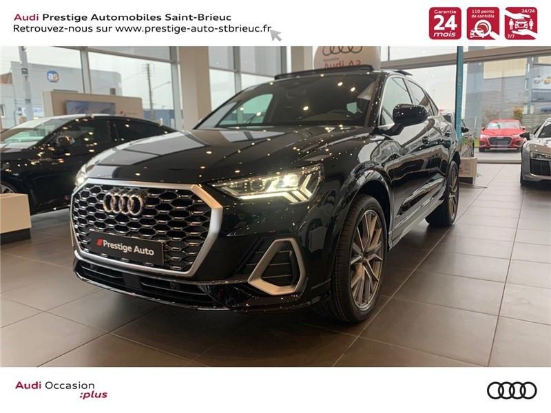 Audi Q3 VP 35 TDI 150 CH S TRONIC 7 Diesel NOIR MYTHIC METALLISE Occasion à vendre