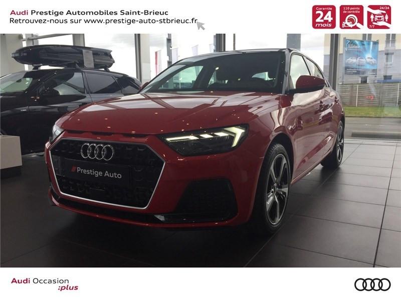 Audi A1 SPORTBACK 25 TFSI 95 CH BVM5 ESSENCE ROUGE MISANO NACRE / NOIR MYTHIC METALLISE Occasion à vendre