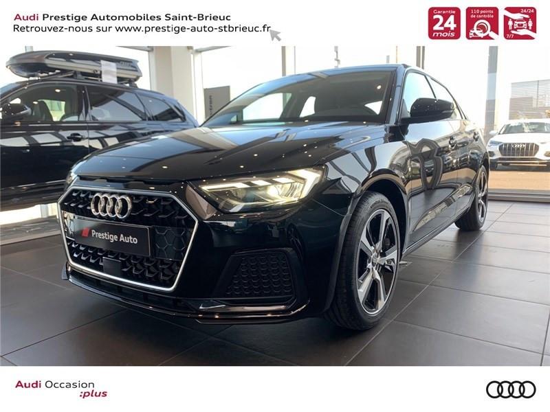 Audi A1 SPORTBACK 25 TFSI 95 CH S TRONIC 7 ESSENCE NOIR MYTHIC / CONTRASTE GRIS MANHATTAN Occasion à vendre