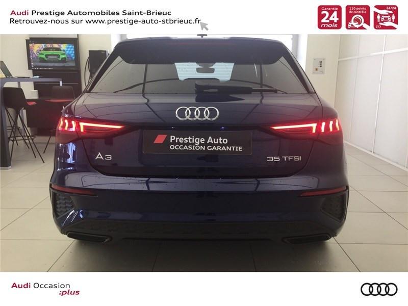 Photo 4 de l'offre de AUDI A3/S3 35 TFSI 150 à 36800€ chez Prestige Automobiles – Audi St Brieuc