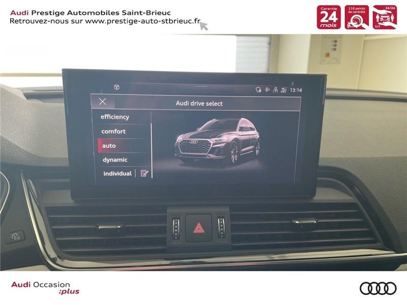 Photo 14 de l'offre de AUDI Q5 35 TDI 163 S TRONIC 7 à 59900€ chez Prestige Automobiles – Audi St Brieuc