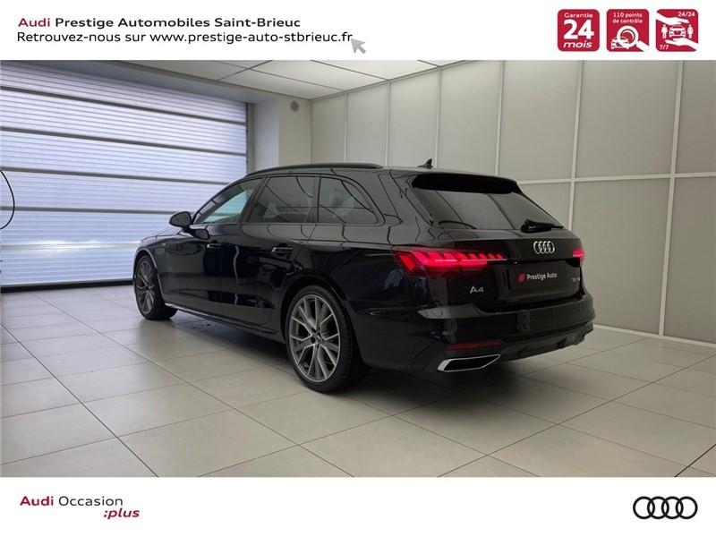 Photo 4 de l'offre de AUDI A4 35 TDI 163 S TRONIC 7 à 46900€ chez Prestige Automobiles – Audi St Brieuc