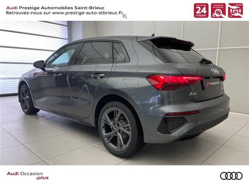 Photo 4 de l'offre de AUDI A3/S3 40 TFSIE 204 S TRONIC 6 à 40900€ chez Prestige Automobiles – Audi St Brieuc