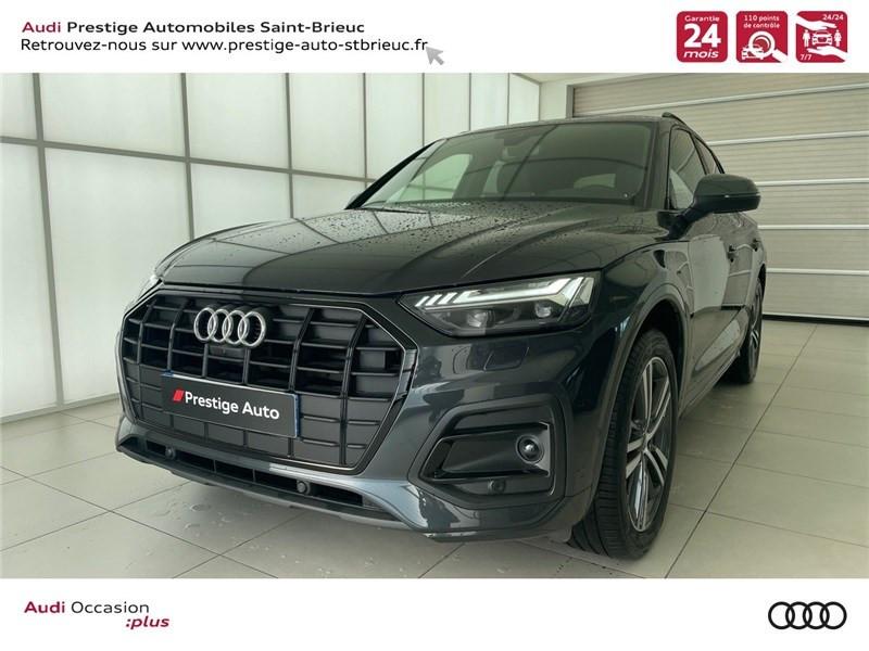 Photo 1 de l'offre de AUDI Q5 35 TDI 163 S TRONIC 7 à 59900€ chez Prestige Automobiles – Audi St Brieuc